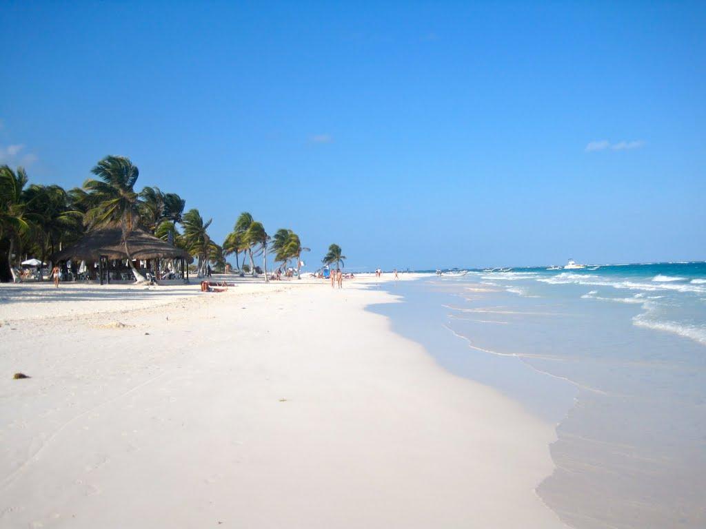 Тулум - Акумаль - Райский пляж