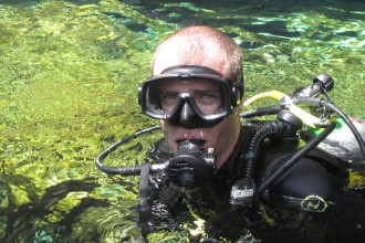 Diving in the Caribbean and Cenote